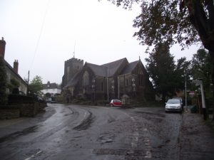 Church and Signpost
